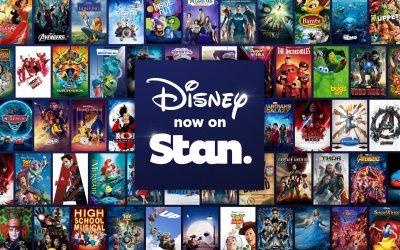 Disney streaming on Stan in Australia